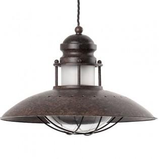 Rustic lamp WINCH