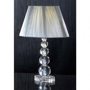 Table lamp Mercury small Transparent