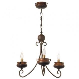 Artisan Chandelier Pots (4 lights)