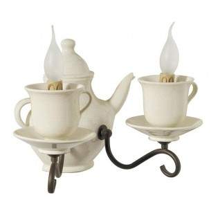 Wall Light Coffee maker (2 lights)