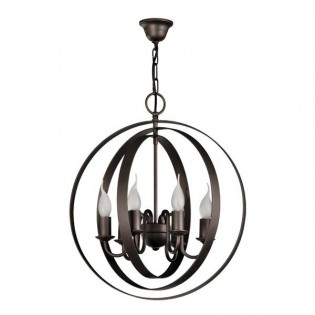 Rustic lamp Gene (6 lights)