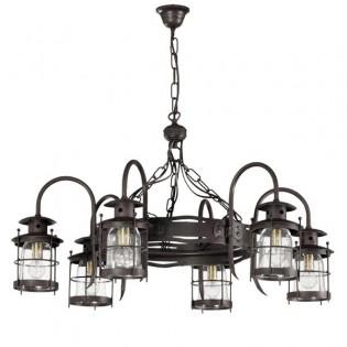Rustic lamp Galux (6 lights)