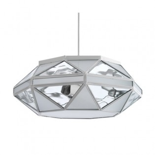 Pendant Light Opal Apodis (white)