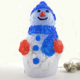 LED light Figure led Snowman (30 lights)