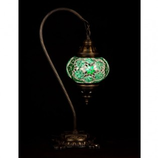 Turkish Table Lamp Kugu15 (green)
