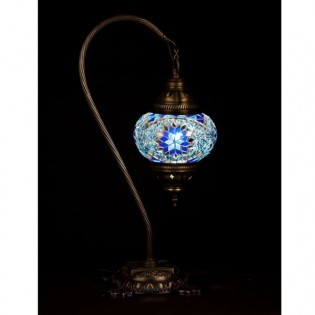 Turkish Table Lamp Kugu15 (blue)
