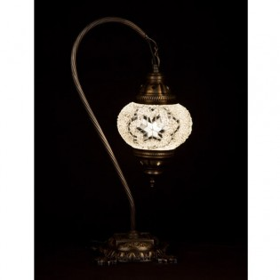 Turkish Table Lamp Kugu15 (white)