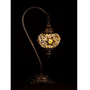 Turkish Table Lamp Kugu15 (yellow)