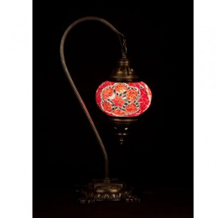 Turkish Table Lamp Kugu15 (red)