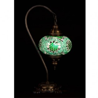 Turkish Table Lamp Kugu17 (green)