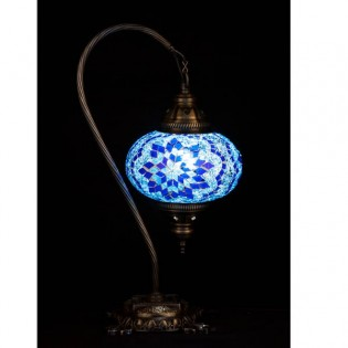 Turkish Table Lamp Kugu17 (blue)