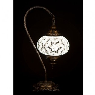 Turkish Table Lamp Kugu17 (white)
