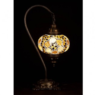 Turkish Table Lamp Kugu17 (yellow)