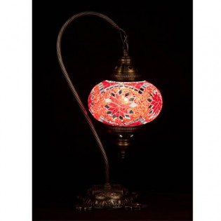 Turkish Table Lamp Kugu17 (red)