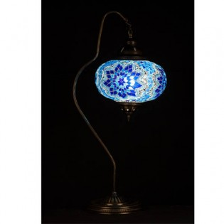 Turkish Table Lamp Kugu24 (blue)
