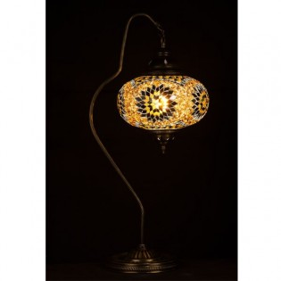 Turkish Table Lamp Kugu24 (yellow)