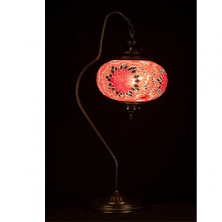 Turkish Table Lamp Kugu24 (red)