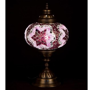 Turkish Lamp Buro16 (pink)