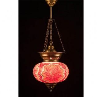 Turkish Pendant Lamp KolyeIII25 (red)