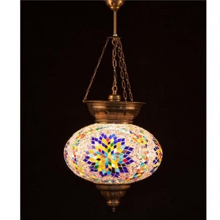 Turkish Pendant Lamp KolyeIII34 (multicoloured)