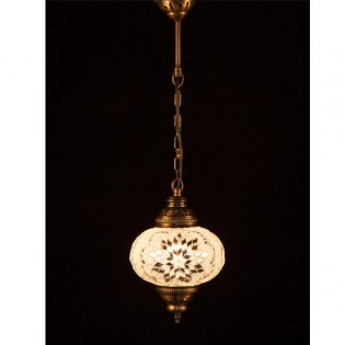 Turkish Lamp KolyeI55 (white)