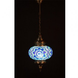 Turkish Lamp KolyeI70 (blue)