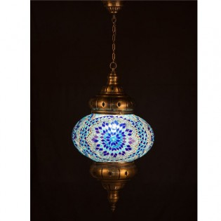 Turkish Lamp KolyeI90 (blue)