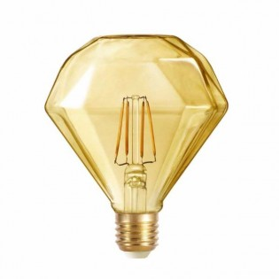 Light bulb LED Diamond caramel (4W-warm)