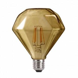 Light bulb LED Diamond Fumé (6W-neutral)