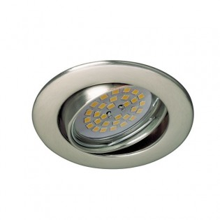 Recessed Downlight BASIC round nickel. Wonderlamp