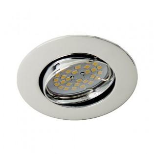 Recessed Downlight BASIC round chrome. Wonderlamp