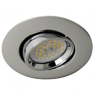 Terra - Recessed Spotlight Kit nickel (7W)