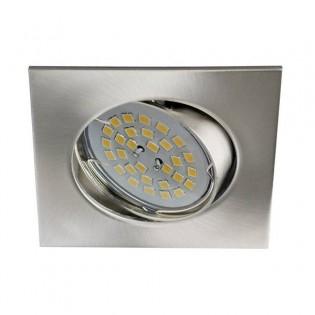 Recessed Spotlight Eclo squared nickel