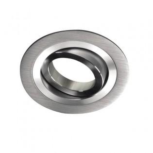 Helium - Recessed Spotlight rounded, aluminum colour