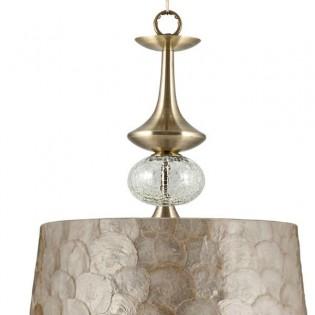Pendant lamp Carmen nacre (35 cm)