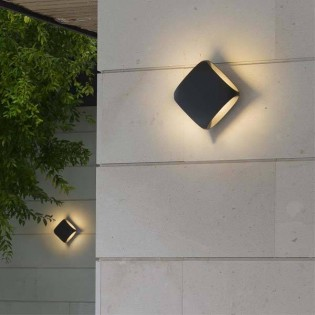 Wall light LED Outdoor Bu-oh (12W)