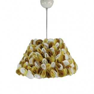 "Ceiling light Petals ""tricolour"" Yellow"