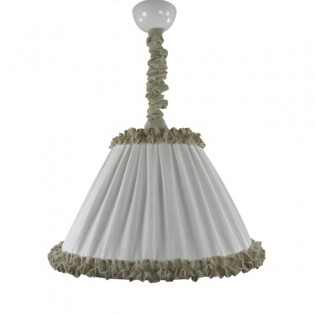 Pendant light linen MARTINA