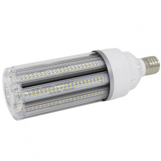 LED Light Bulb E40 8U 55W 4000K Clear glass