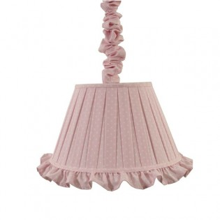Pendant light linen ALBA Baby