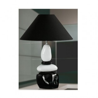 Table Lamp Stones white and black II
