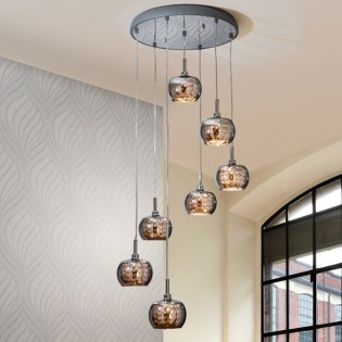 Pendant light LED Arian (42 W) (7 lights)