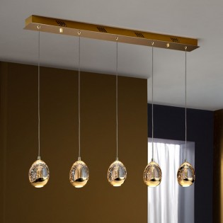 5- Light LED Kitchen Island Pendant Rocio (25W)