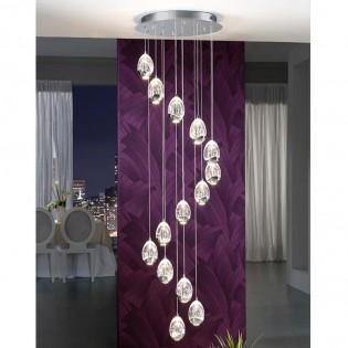 14 - Light LED Cluster Pendant Rocio (70W)