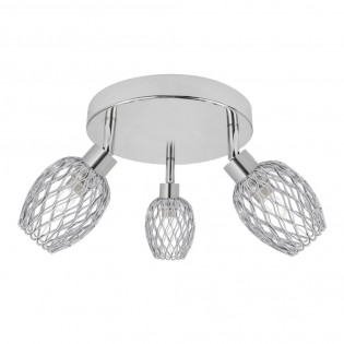 Ceiling flush light Arne (3 lights)
