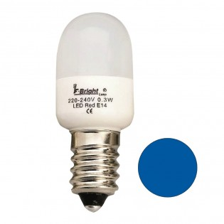 LED Light Bulb Cauldron Mini blue E14 (0.3W)
