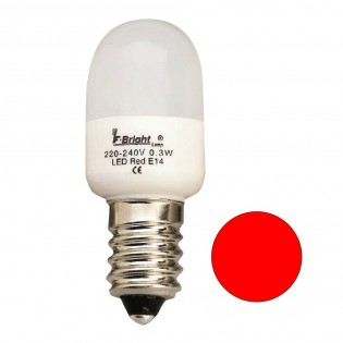 LED Light Bulb Cauldron Mini Red E14 (0.3W)