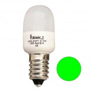 LED Light Bulb Cauldron Mini green E14 (0.3W)