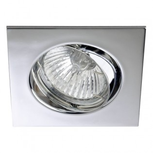 Kit Recessed light ECLO chrome (steerable)