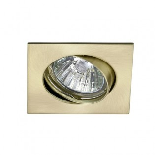 Kit Recessed light ECLO Satin Gold (steerable)